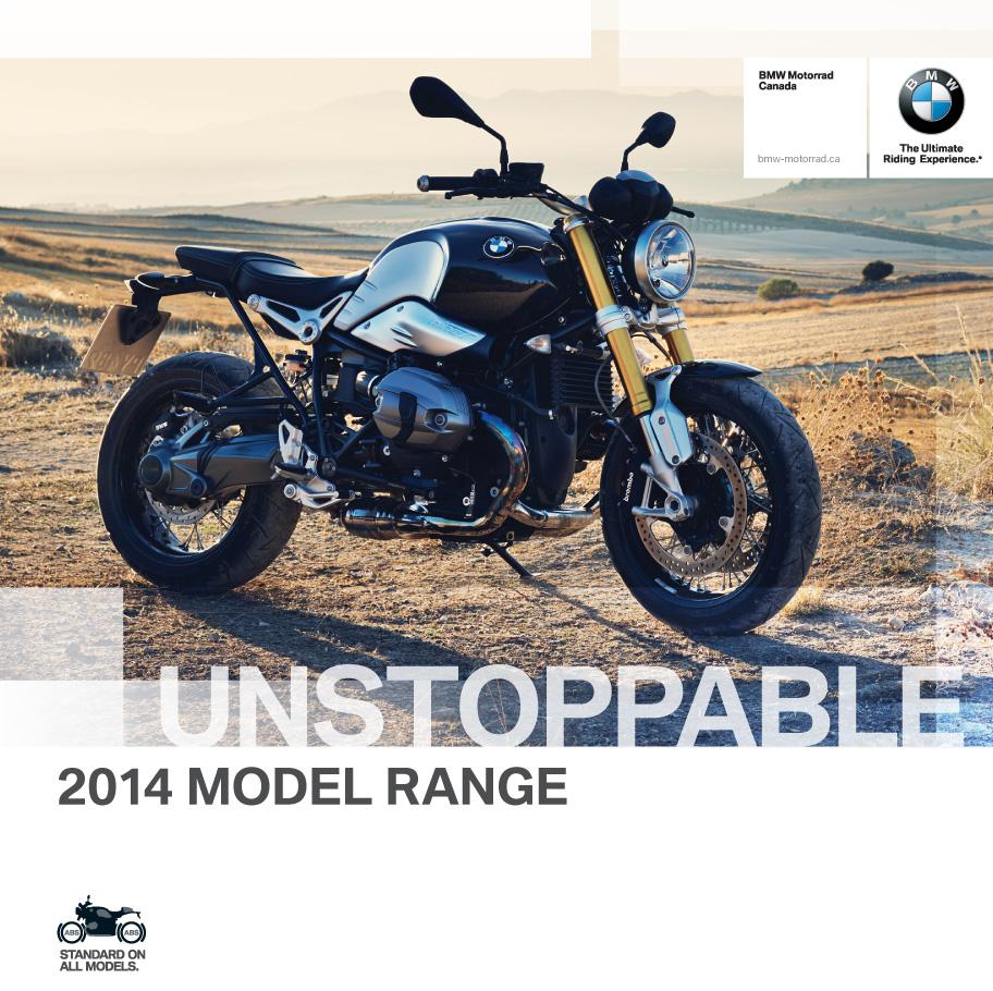 BMW Motorrad brochure cover 2014