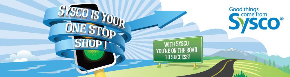 Sysco Trade Show Banner