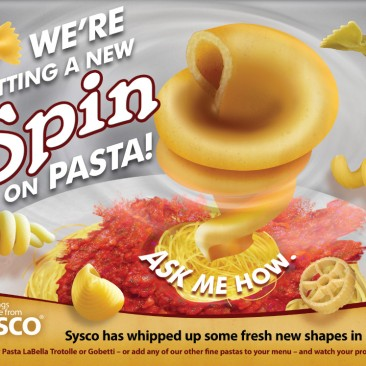 Sysco Pasta Laptop Skin