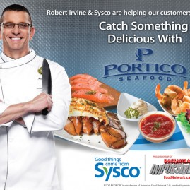 Sysco Seafood Laptop Skin