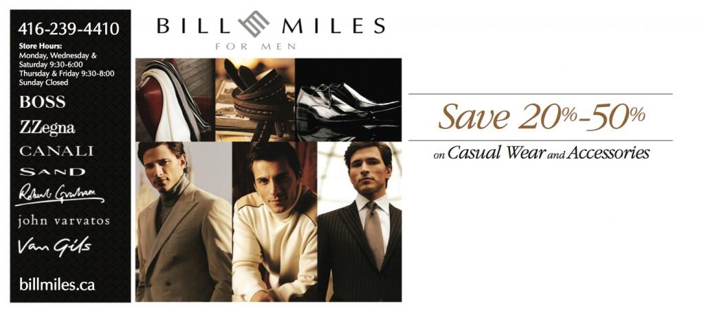 Bill Miles Mailer 2013