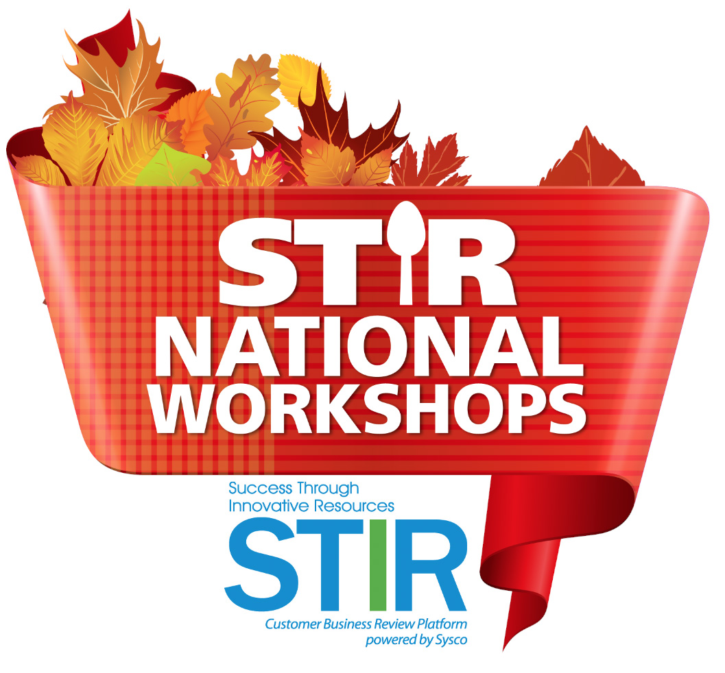 STIR National Workshops logo